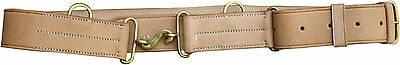 Canadian 1915 Oliver Pattern Leather Belt with Snake Buckle