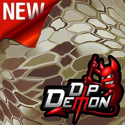 Dip Demon Green Cryptic Hex Modern Combat Camo Hydrographic Water Transfer Film