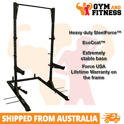 Brand New Force Usa Crossfit Training Half Rack With Attachments