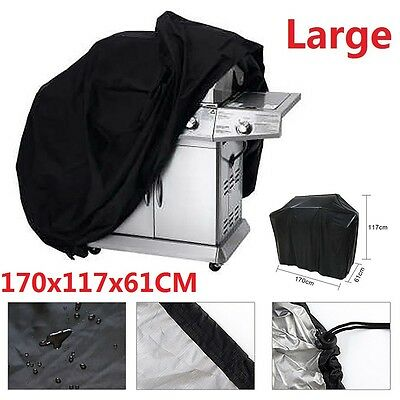 Barbecue Cover Outdoor Waterproof Garden Patio Gas Grill Housses Protection