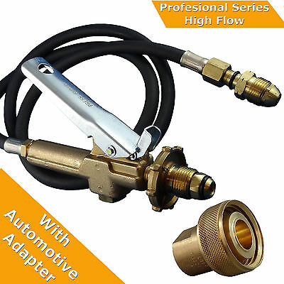 "LPG Filler Gun & Hose Automotive.  Comes with Acme 1 3/4"" Adpter"