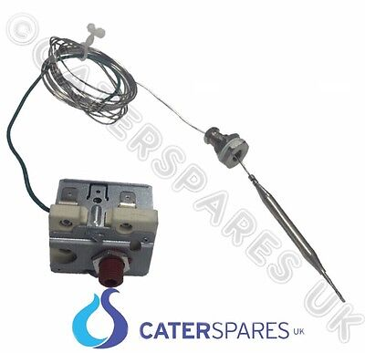 FRYER HIGH LIMIT SAFETY THERMOSTAT CUT OUT 230oC EXTRA LONG 2 METRE CAPILLARY