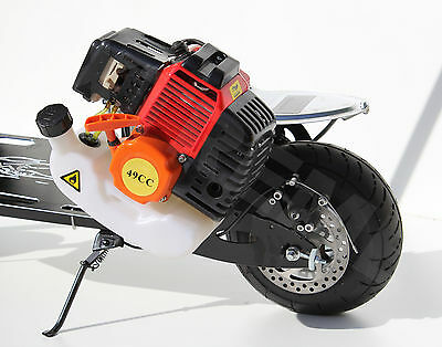 GAS PETROL SCOOTER 2 STROKE COMPLETE ENGINE WITH GEARBOX /GO PED 49-50cc/ PART
