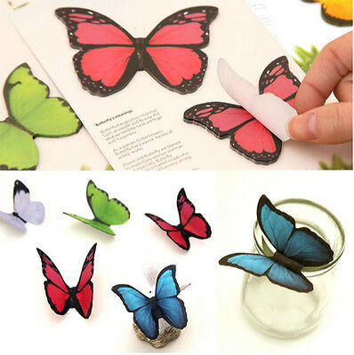 Sticker Post-It Bookmark Marker Memo Flags Index Tab Sticky Notes Cute Butterfly