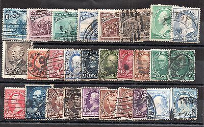 USA Early collection mainly good used (28 values) WS587