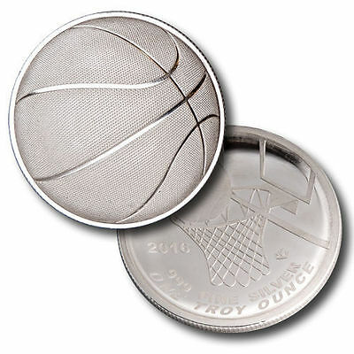 Stephen Curry 1 oz .999 Silver Basketball Curved Coin, NBA, NCAA, sports, Jordan