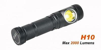 Acebeam H10 led MT-G2  Torcia a led 2000 Lumens Torcia frontale con batteria