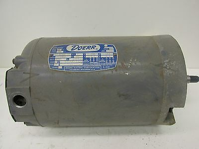 Doerr LR-22132 3 Phase A.C. Motor 2HP 3450RPM 60Hz Type P 41166 WVS