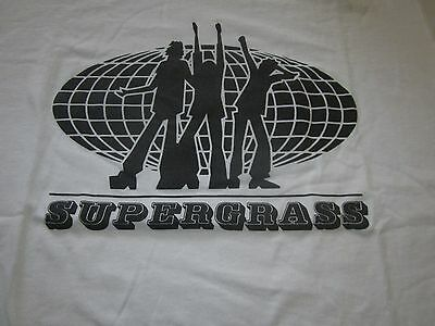 Supergrass 94 Vintage Promo Tee Shirt Xl Ringer Clean Indie Brit Pop