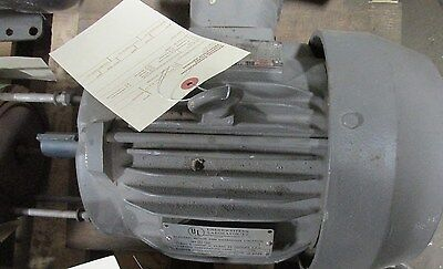 B0054YLF2AS02 High Efficiency Induction Motor 3-Phase 5HP 1730RPM 41278 WVS