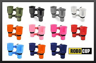 ROBOCUP 9 Colors, Drink Cup Holder Wheelchair Walker Crutches Knee Scooter Cane