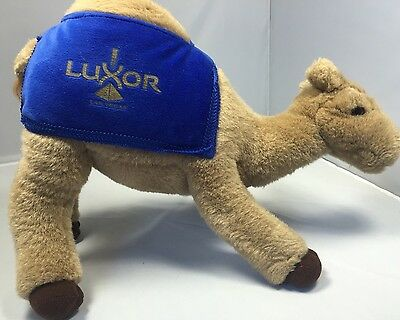 Luxor Las Vegas COLLECTIBLE Stuffed Plush CAMEL  Kids Toy HUMP DAY 15""