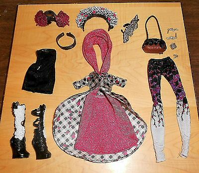 Ever After High-Spring Unsprung-Cerise Hood-Clothes, Accessories & Shoes Ooak