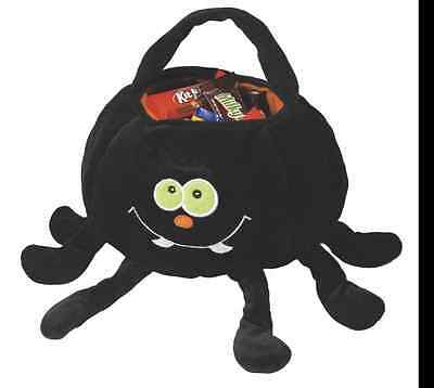 "Spider Halloween Trick or Treat Bag  NEW   ""SOFT"""