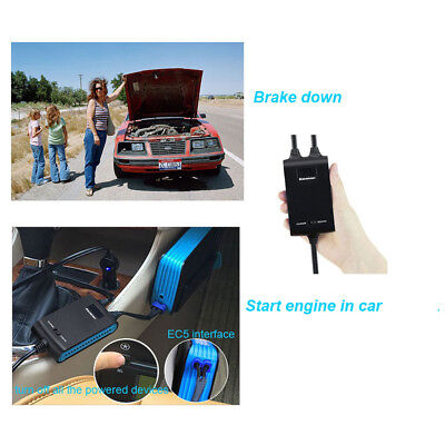 12V Auto Engine Starter Reverse Charger para Jump Starter Emergency Booster Tool