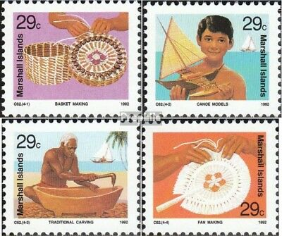 Marshall-Islands 439-442 unmounted mint / never hinged 1992 Crafts
