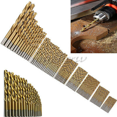 99 Pcs Stainless Metal Cobalt HSS-Co Steel Drill Bit Tool Set 1.5mm-10mm