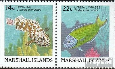 Marshall-Islands 152D/154D unmounted mint / never hinged 1988 Fish