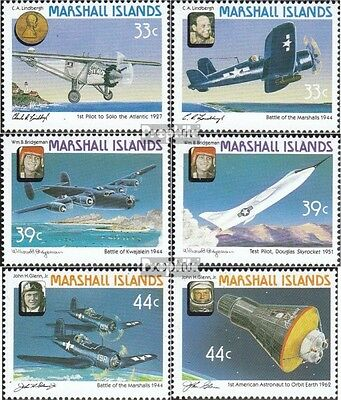Marshall-Islands 113-118 unmounted mint / never hinged 1987 History the Aviation