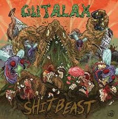 GUTALAX - Shit Beast LP Lividity Rompeprop Cliteater Cock And Ball Torture Stoma