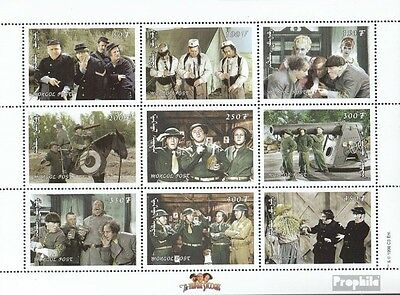 Mongolia 2867-2875 Sheetlet unmounted mint / never hinged 1998 Fernsehserie The