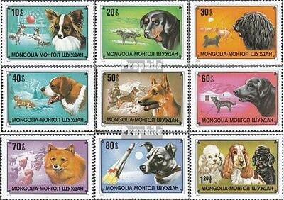Mongolia 1171-1179 unmounted mint / never hinged 1978 Dogs