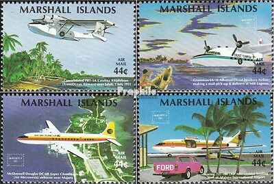 Marshall-Islands 77-80 unmounted mint / never hinged 1986 Stamp Exhibition