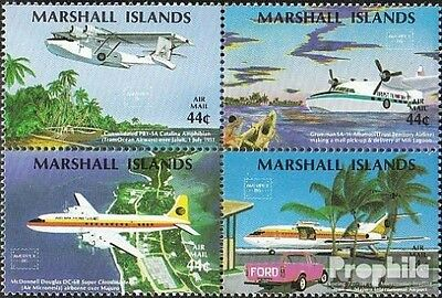 Marshall-Islands 77-80 block of four unmounted mint / never hinged 1986 Stamp Ex