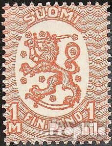Finland 87A fine used / cancelled 1917 clear brands: Crest