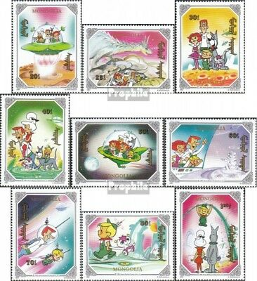Mongolia 2218-2226 unmounted mint / never hinged 1991 the Jetsons
