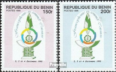 Benin 716-717 unmounted mint / never hinged 1995 Conference