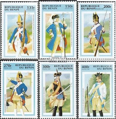 Benin 905-910 unmounted mint / never hinged 1997 Prussian Uniforms