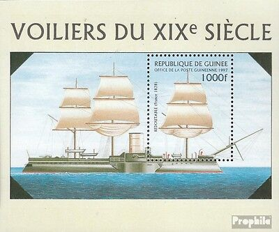 Guinea Block509 unmounted mint / never hinged 1997 Warships