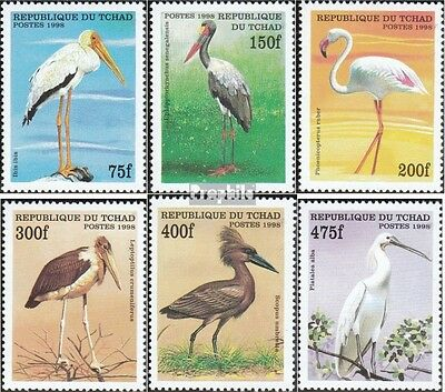 Chad 1870-1875 unmounted mint / never hinged 1999 African Birds