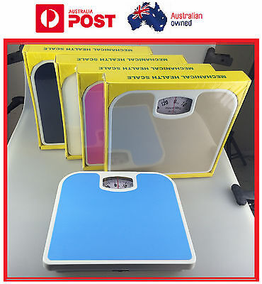 130KG  Mechanical Bathroom Body Health Scale Health Fitness Body Weight Scale
