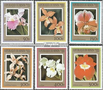 Benin 1152-1157 unmounted mint / never hinged 1999 Orchids