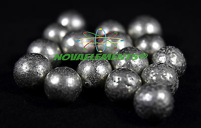 Nickel metal element 28 Ni sample, one BIG sphere 99,99% >10 grams in HQ bag