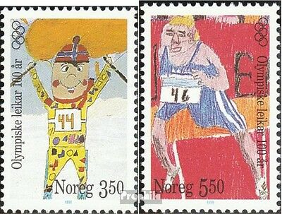 Norway 1206-1207 unmounted mint / never hinged 1996 Olympics Games Modern