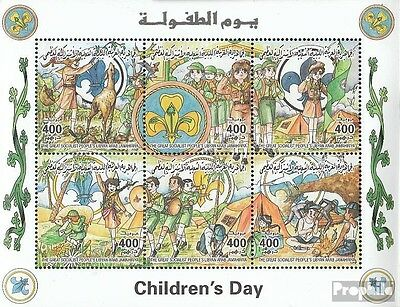 Libya 2603-2608 Sheetlet unmounted mint / never hinged 1998 Day of Kinof