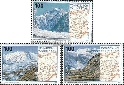 Tajikistan 109-111 unmounted mint / never hinged 1997 Pamirgebirge