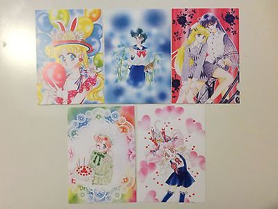 Sailor moon manga illustration art book postcard