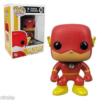 "Funko Pop The Flash Dc Universe 3.75"" Vinyl Figure New Red"
