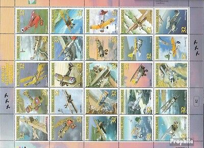 Marshall-Islands 751-775 ZD-archery unmounted mint / never hinged 1996 biplane