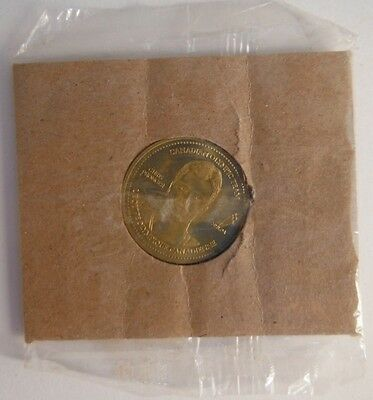 2002 Chris Pronger Olympic Hockey Coke Coca-Cola Coin - In Original Package