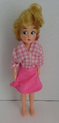 Vintage 8 Inch Plastic Reliable Doll       (Inv2978)