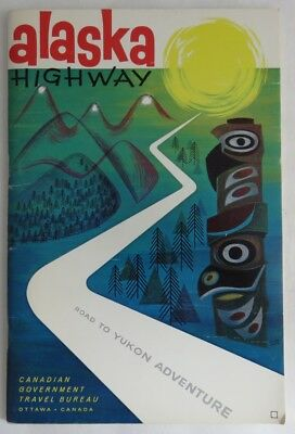 Vintage Alaska Highway Information Guide Book        (Inv3219)