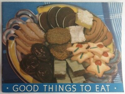 1939 Church & Dwight Co. Good Things To Eat Booklet     (Inv2362)