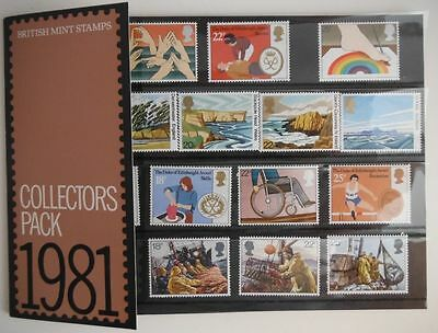 1981 British Stamp Collector's Pack