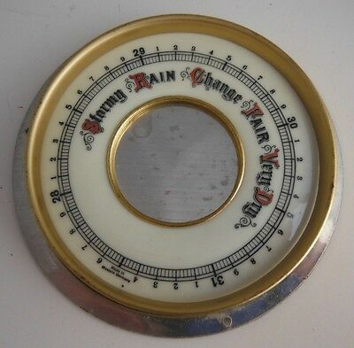Made In Western Germany 3 1/4 Inch Barometer Face