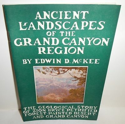 1958 Ancient Landscapes Of The Grand Canyon Brochure